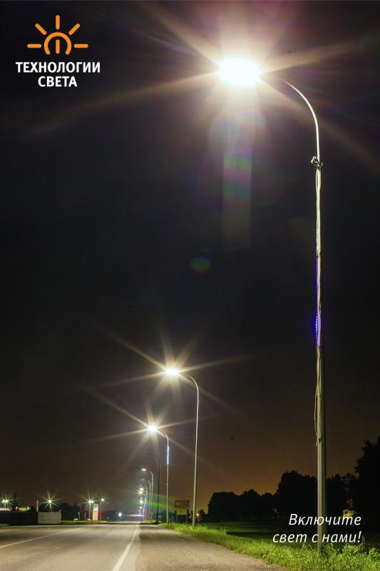 Освещение улиц в г. Белово