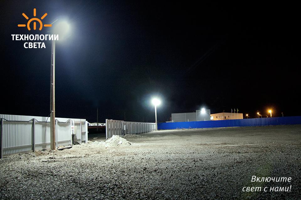 Освещение территории ''Дорстройзапчасть'', ООО