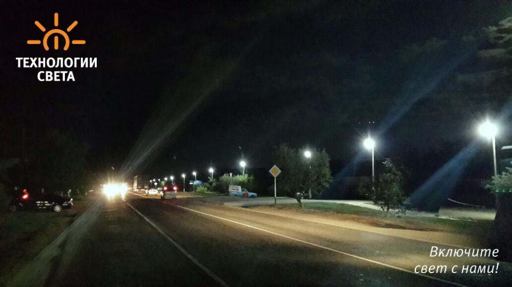Освещение улицы Ахтонизовского поселения
